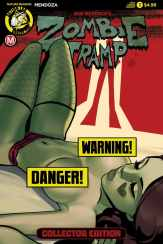 ZOMBIE TRAMP: ORIGINS (VOLUME 1 COLLECTOR EDITION) - Cover D - risqué SEXY variant (limited to 2500) by Celor