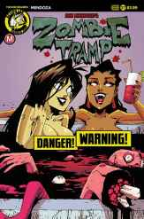 """Zombie Tramp #37 - Cover D – risqué """"blood tub"""" variant (limited to 2500) by Marco Maccagni"""