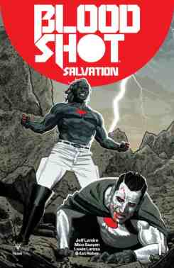 Bloodshot Salvation #1 - Smallwood Interlocking Variant