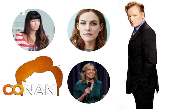 Last Night on CONAN - 6/8/17: Patty Jenkins | Riley Keough | Laurie Kilmartin