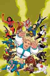 Faith and the Future Force #1 - Cover B by Kano
