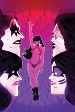 Kiss/Vampirella #3 (of 5) - Virgin Variant Cover by Juan Doe