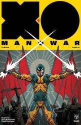 X-O Manowar #4 - Cover B by Dave Johnson