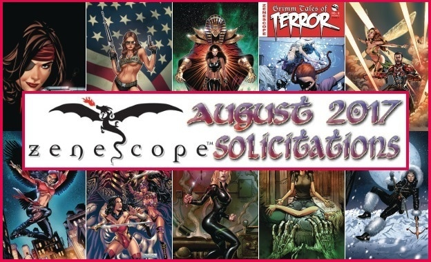 #Solicitations - August 2017: Zenescope Entertainment