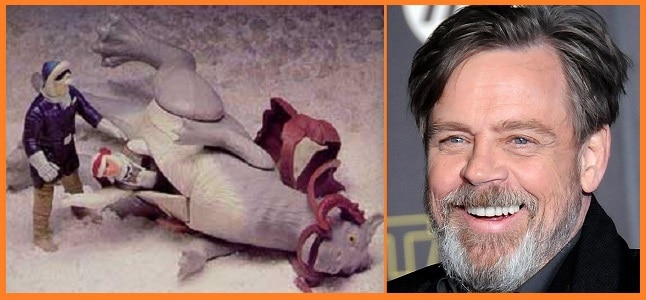 "Mark Hamill Tells Us His Least Favorite ""Star Wars"" Toy"
