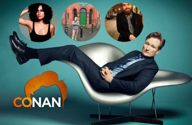 Last Night on CONAN - 8/15/17: Tracee Ellis Ross | Chris Gethard | Rojo Perez