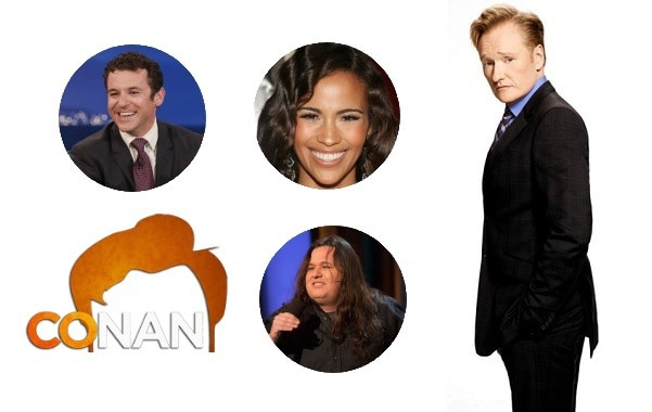 Last Night on CONAN - 9/18/17: Fred Savage | Paula Patton | Shane Torres