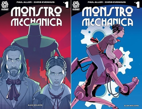 [Preview] AfterShock Comics Announces MONSTRO MECHANICA #1 - Paul Allor & Chris Evenhuis Masterfully Blend Da Vinci and Machines