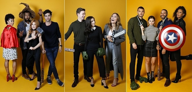 NYCC 2017: HollywoodLife's Portrait Album from New York Comic Con ft. Cast from FX and Freeform Shows