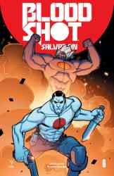 Bloodshot Salvation #6 - Interlocking Variant by David Lafuente