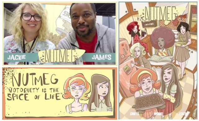 [Interview] James F. Wright & Jackie Crofts of Action Lab Entertainment's 'NUTMEG' - Fall HC Edition Now on Kickstarter!