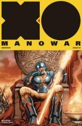 X-O Manowar #9 - Interlocking Variant by Juan Jose Ryp