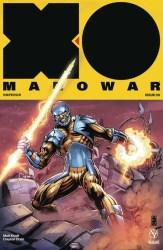 X-O Manowar #9 - X-O Manowar Icon Variant by Darick Robertson