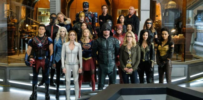 [Photos] Get Your First Look At The DC-TV Crossover Event [SUPERGIRL 3x08]