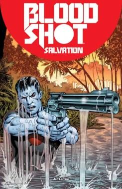 Bloodshot Salvation #7 - Bloodshot Icon Variant by Bob Layton