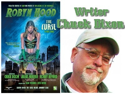 [Interview] Writer Chuck Dixon of ROBYN HOOD: THE CURSE from Zenescope Entertainment
