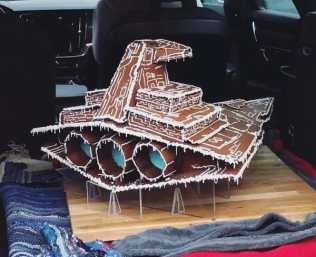 Gingerbread Star Destroyer pic 2