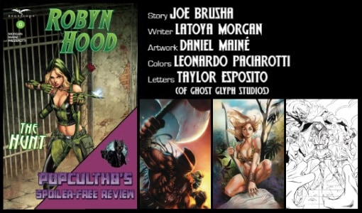 [Comic Book Review] ROBYN HOOD: THE HUNT #6 from Zenescope Entertainment