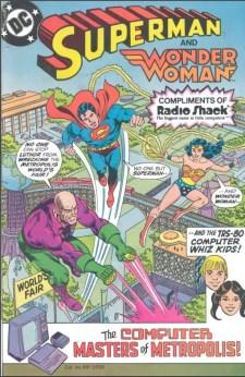 Superman-wonderwoman TRS 80 -1