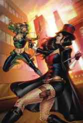 Van Helsing vs. Robyn Hood #1 - Cover B by Sheldon Goh