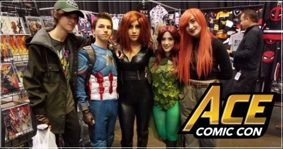 Cosplay Photos: Ace Comic Con - Arizona 2018 (Part 2)