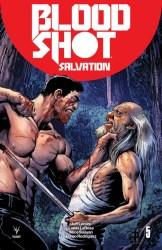 Bloodshot Salvation #5 - Cover C (Battle Damaged) by Darick Robertson