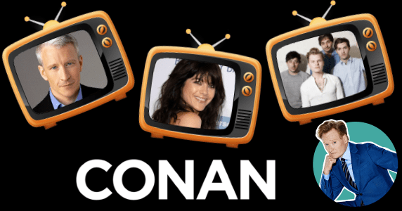 Last Night on CONAN - 1/18/18: Anderson Cooper | Selma Blair | Grizzly Bear