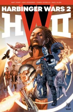 HARBINGER WARS 2 #1 (of 4) – Cover by J.G. Jones