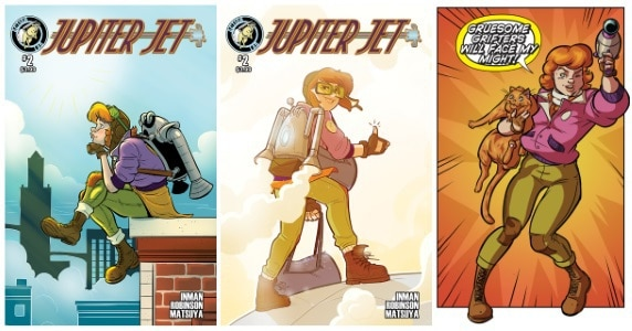 [Preview] Action Lab Entertainment's 1/17 Release: JUPITER JET #2