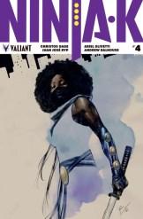 NINJA-K #4 – Variant Cover by Roberto de la Torre