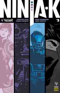 Ninja-K #3 - Pre-Order Edition by Tonci Zonjic