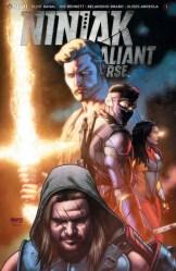 Ninjak vs. the Valiant Universe #1 - Cover B by CAFU