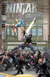 Ninjak vs. the Valiant Universe #1 - Interlocking Variant Cover by Francis Portela