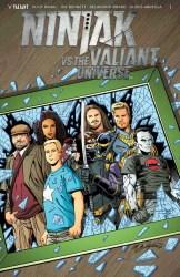 Ninjak vs. the Valiant Universe #1 - Variant Cover by Bob Layton