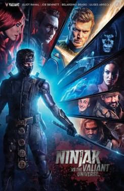 Ninjak vs. the Valiant Universe #1 - Photo Cover