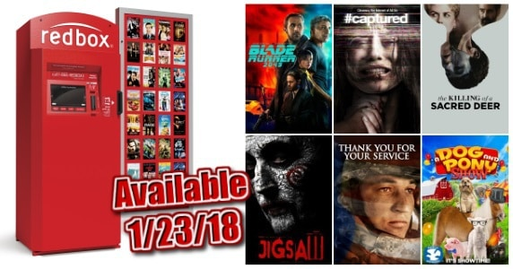 New to Redbox - 1/23/18: Preview & Trailers of This Week's New Releases