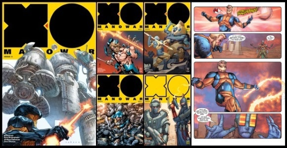 [Preview] Valiant's 1/24 Release: X-O MANOWAR #11 by Matt Kindt & Ryan Bodenheim