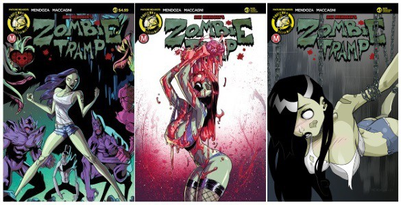 [Preview] Action Lab: Danger Zone's 1/24 Release: ZOMBIE TRAMP #43 by Dan Mendoza & Celor