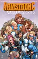 Armstrong and the Vault of Spirits #1 - Cover B by Juan Jose Ryp