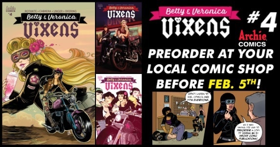 Betty & Veronica - Vixens #4