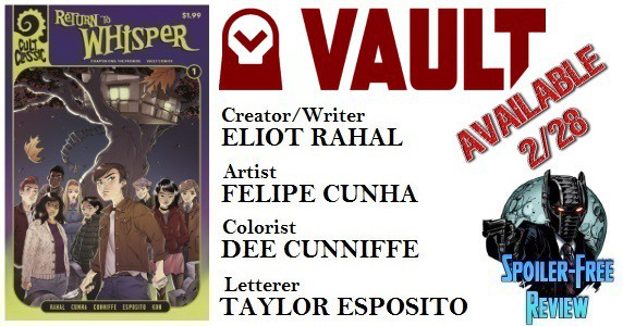 [Comic Book Review] 'Cult Classic: Return to Whisper' #1 from Vault Comics