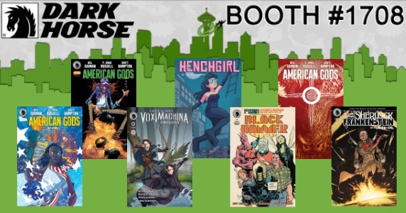 [ECCC 2018] Dark Horse Comics Announces Emerald City Comic Con Exclusives