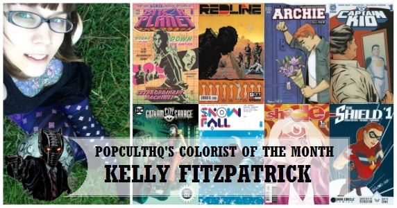 Kelly Fitzpatrick Colorist of the Month