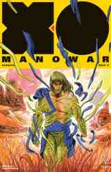 X-O MANOWAR (2017) #15 - Variant Cover by Veronica Fish