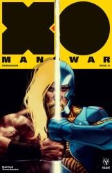 X-O MANOWAR (2017) #15 - X-O Manowar Icon Variant by Viktor Kalachev