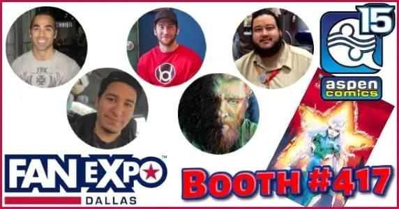 Aspen at Fan Expo Dallas