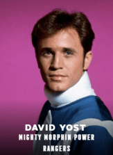 David Yost appearing at C2E2 2018