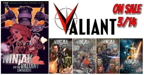 Ninjak vs. the Valiant Universe #3 feature