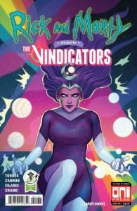 Rick and Morty™ Presents: The Vindicators #1 - ECCC Variant by Jen Bartel