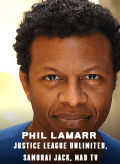Phil Lamarr appearing at C2E2 2018